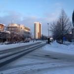 Stationsgatan 2 som är HSB Arlandas bygge är klart. Foto: Kjell Gustafson